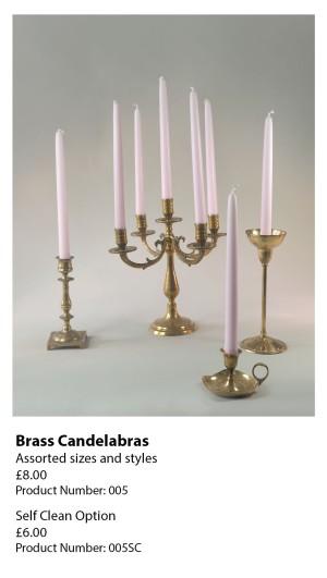Brass Candelabras 005