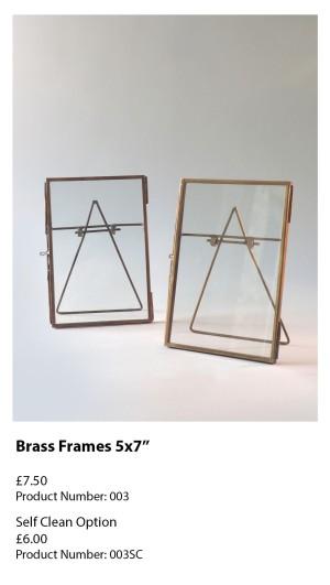 Brass Frames 5x7 003
